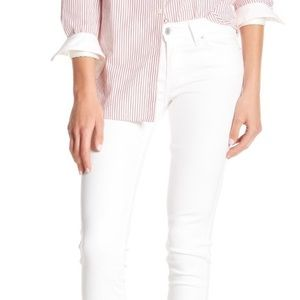 Levi's 711 Soft White Skinny Jeans 30 x 32
